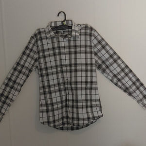 Express Extra Slim Fit Casual Long Sleeve Btn Down